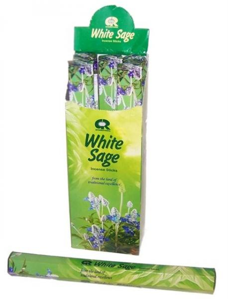 White Sage Incense - Pack of 20 sticks